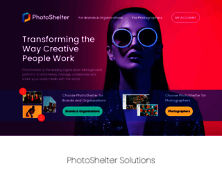photoshelter.com screenshot