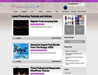 photoshopgirl.com screenshot