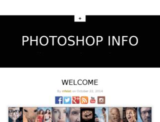 photoshopinfo.com screenshot