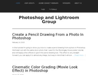photoshoplightroomgroup.com screenshot