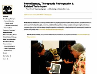 phototherapy-centre.com screenshot