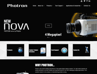 photron.com screenshot