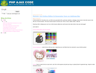 php-ajax-code.blogspot.in screenshot
