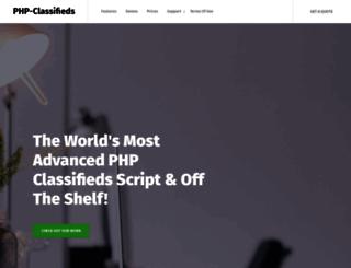 php-classifieds.com screenshot
