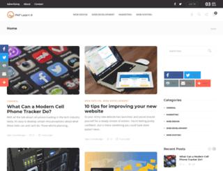 php-learn-it.com screenshot