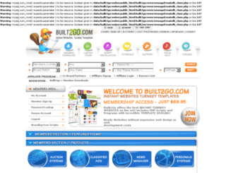 php-news-manager-blog.built2go.com screenshot