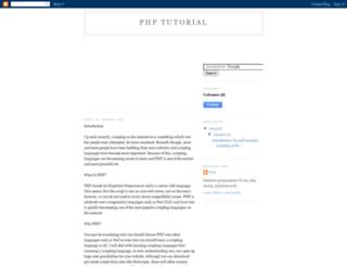 php-tutorial-riaq.blogspot.com screenshot