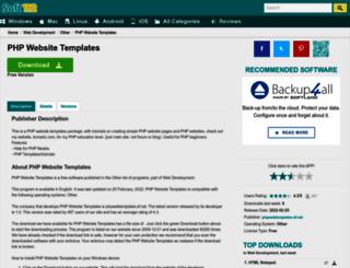 php-website-templates.soft112.com screenshot