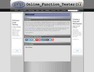 php.fnlist.com screenshot