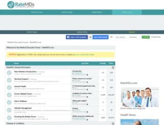 php.ratemds.com screenshot