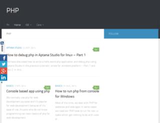php.tutorialhorizon.com screenshot
