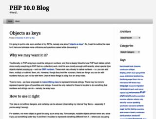 php100.wordpress.com screenshot