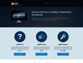 phpbbwebhosting.com.au screenshot