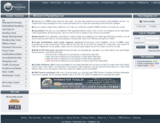 phpcgishop.com screenshot