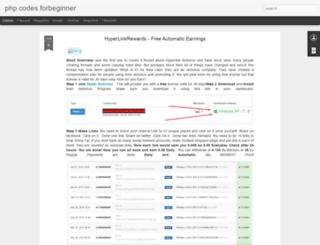 phpcodeforbeginner.blogspot.in screenshot
