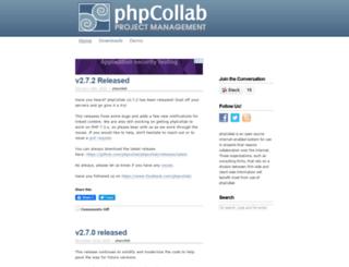 phpcollab.com screenshot