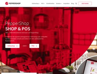 phpeppershop.com screenshot
