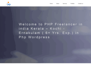 phpfreelanceindia.com screenshot