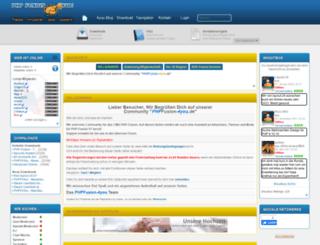 phpfusion-4you.de screenshot