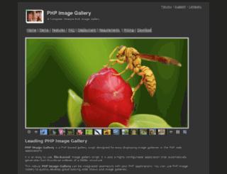 phpimagegallery.com screenshot