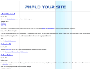 phpldyoursite.com screenshot