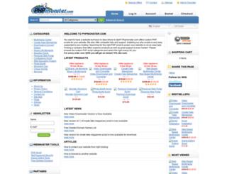 phpmonster.com screenshot