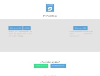 phpost.net screenshot