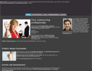 phpoutsourcing.co.nz screenshot