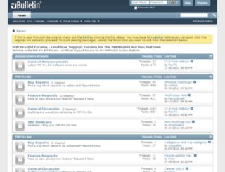 phpprobidforums.com screenshot