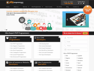 phpprogrammers.com.au screenshot