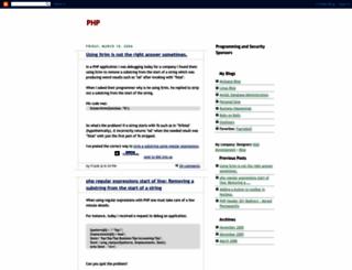 phpprogrammingguide.blogspot.com screenshot