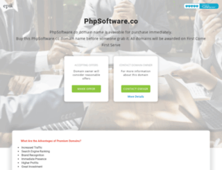 phpsoftware.co screenshot