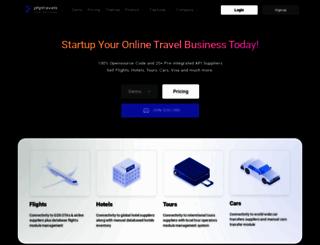 phptravels.com screenshot