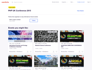 phpukconference.eventbrite.co.uk screenshot