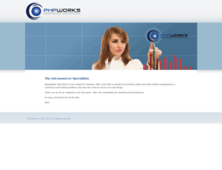 phpworks.co.uk screenshot
