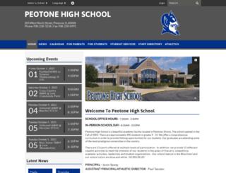 phs.peotoneschools.org screenshot
