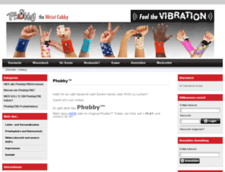 phubby.de screenshot