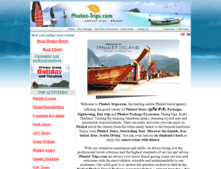 phuket-trips.com screenshot