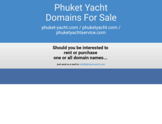 phuket-yacht.com screenshot