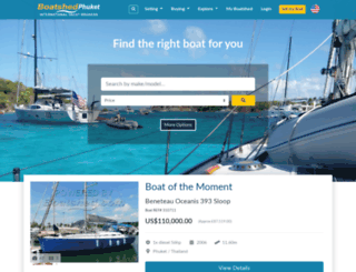 phuket.boatshed.com screenshot
