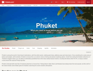 phuket.com screenshot