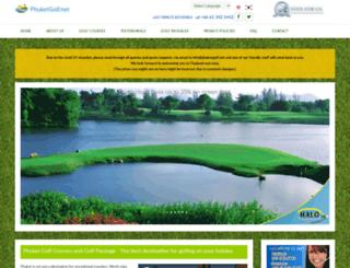 phuketgolf.net screenshot