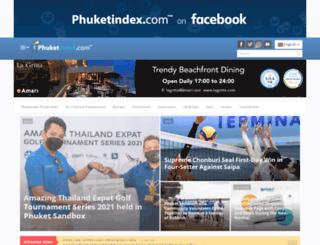phuketnews.phuketindex.com screenshot