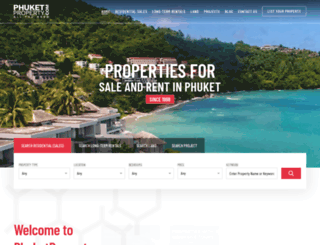 phuketproperty.com screenshot