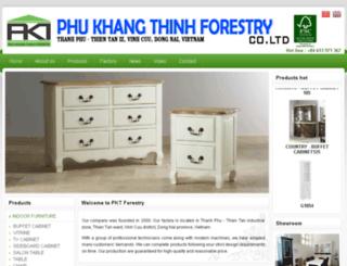 phukhangthinh.dos.vn screenshot