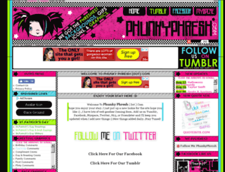 phunkyphresh.com screenshot