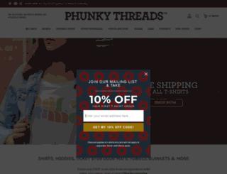 phunkythreads.com screenshot