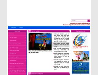 phunu.cantho.gov.vn screenshot