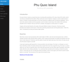 phuquocisland.com screenshot