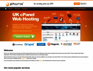 phurix.co.uk screenshot